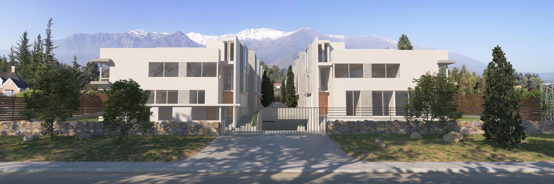 Render Las Pircas Townhouse