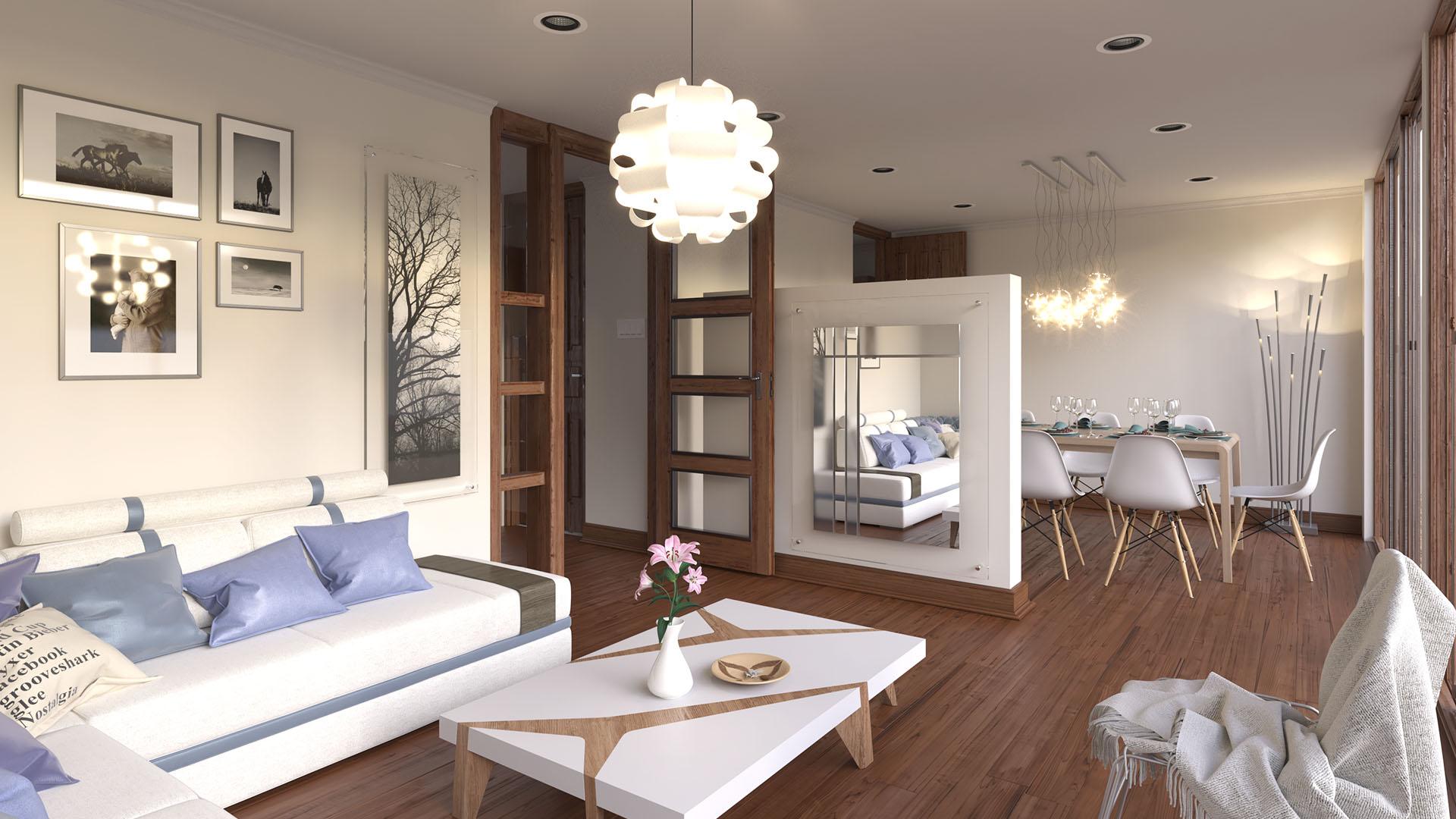 Render Living Condominio La Estancia